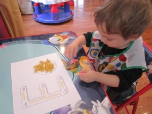 Preschool Alphabet Letter E
