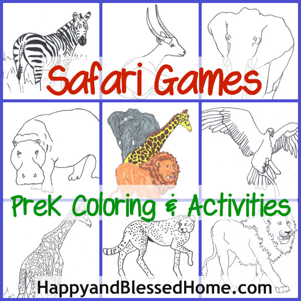 free preschool games safari games happy and blessed home. Black Bedroom Furniture Sets. Home Design Ideas