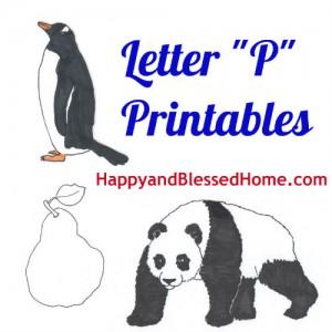 letter-p-printables
