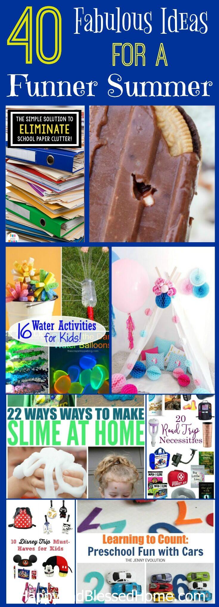 37 Ways To Savor Your Summer: Over 40 Ways To Enjoy Summer Family Fun